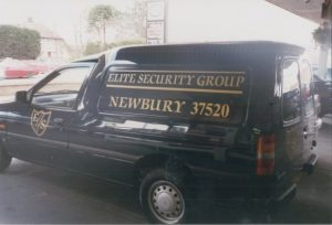 Elite Security Group Vehicle